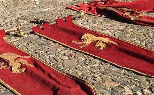 """Imágenes del rodaje de """"Juego de Tronos"""" en Cáceres"""
