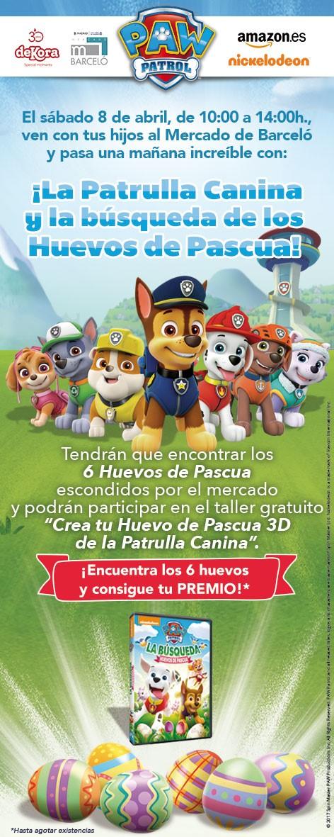 Ven a disfrutar con La patrulla canina