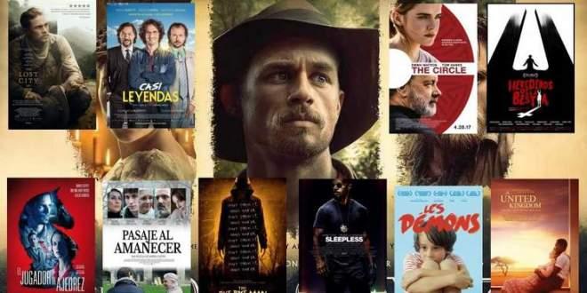 Estrenos de cine del 5 de mayo de 2017