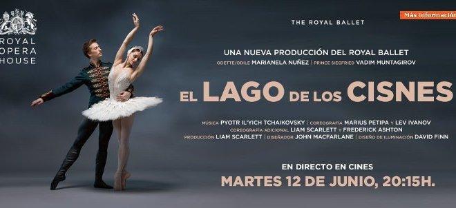 El lago de los cisnes, en Yelmo Cines, en directo desde la Royal Opera House de Londres