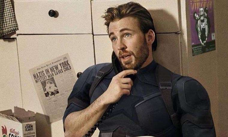 Chris Evans, Knives Out