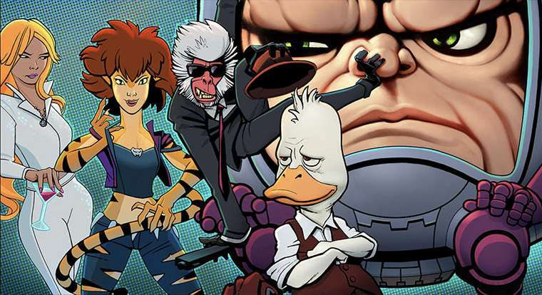 Howard The Duck, The Offenders, M.O.D.O.K., Hit-Monkey, Tigra & Dazzler