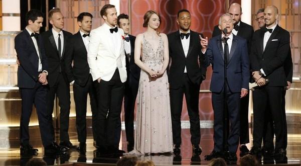Golden Globes 2017 : La La Land Triomphe, Isabelle Huppert sacrée