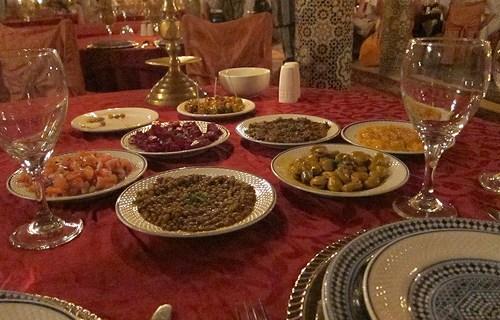 Un restaurante para Hitchcock en Marrakech