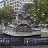 Madrid se llena de esculturas gigantes de Harry Potter