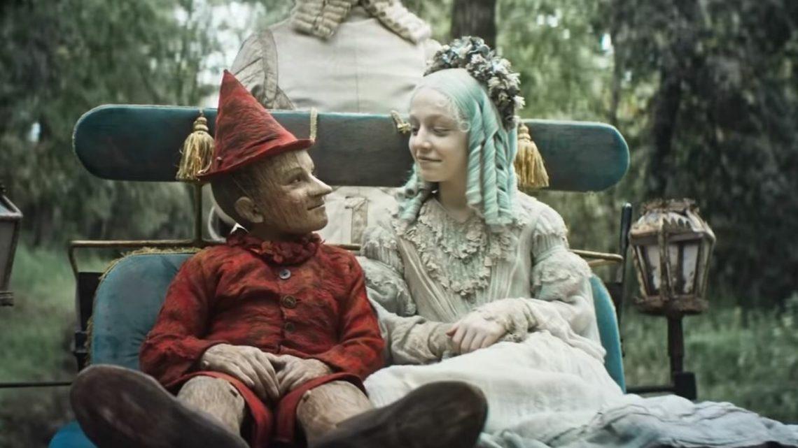 Pinocchio e la Fata Turchina nel film di Garrone
