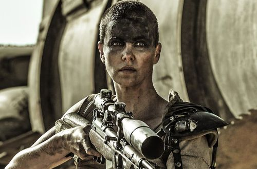 Charlize Theron in Mad Max: Fury Road