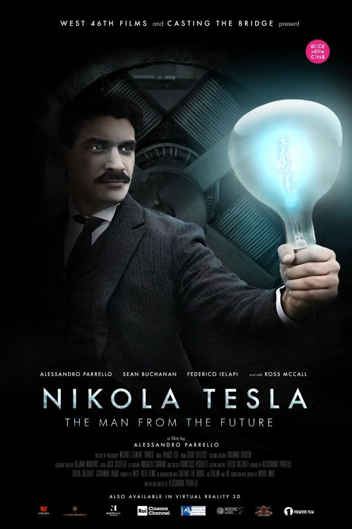 Locandina Nikola Tesla cortometraggio