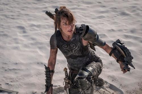 Monster Hunter Mila Jovovich