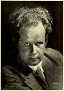Portrait of Serge Eisenstein