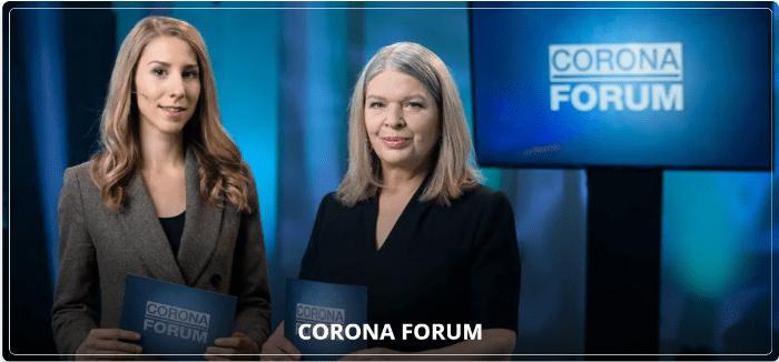 CORONA FORUM mit Karin Kraml und Caroline Pospischil