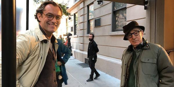 Jude Law e Woody Allen