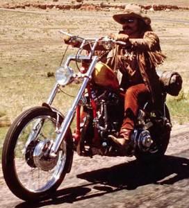 "Dennis Hopper in ""Easy Rider"""