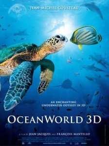 "Locandina di ""Oceanworld 3D"""