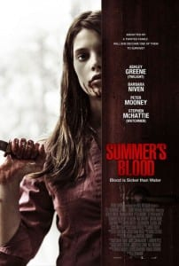 "Locandina di ""Summer's Blood"""