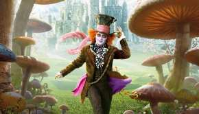 "Locandina italiana di ""Alice in Wonderland"""