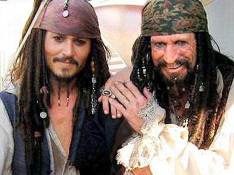 Johnny Depp e Keith Richards