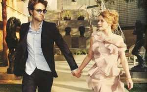 Robert Pattinson ed Emilie De Ravin per Vogue