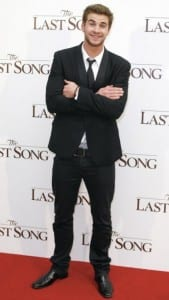 "Liam Hemsworth all'anteprima di ""The Last Song"""
