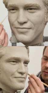 La statua di cera di Robert Pattinson