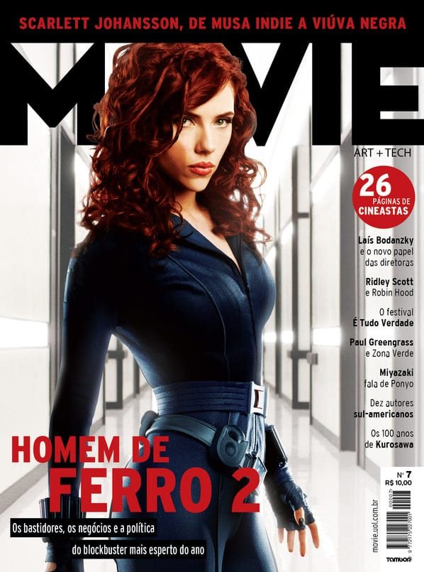 "Scarlett Johansson in ""Iron Man 2"""