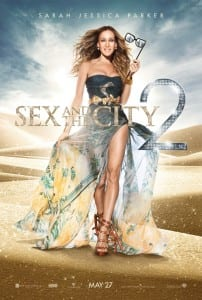 "Locandina di ""Sex and the City 2"" - Sarah Jessica Parker"