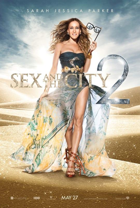 "Locandina di ""Sex and the City 2"" - Sarah Jessica Parker"