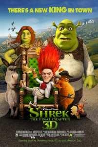 """Locandina di """"Shrek e vissero felici e contenti"""""""