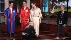 Robert Pattinson ospite da Ellen Degeneres