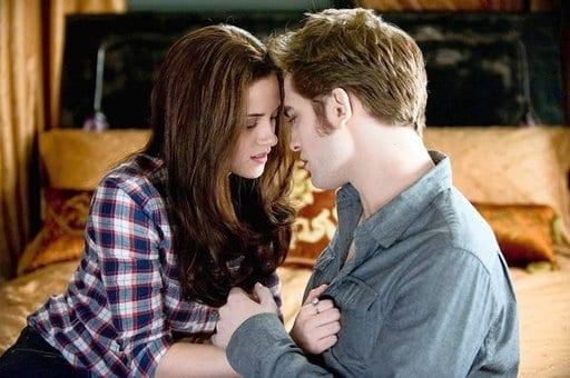 """Kristen Stewart e Robert Pattinson in """"Eclipse"""""""