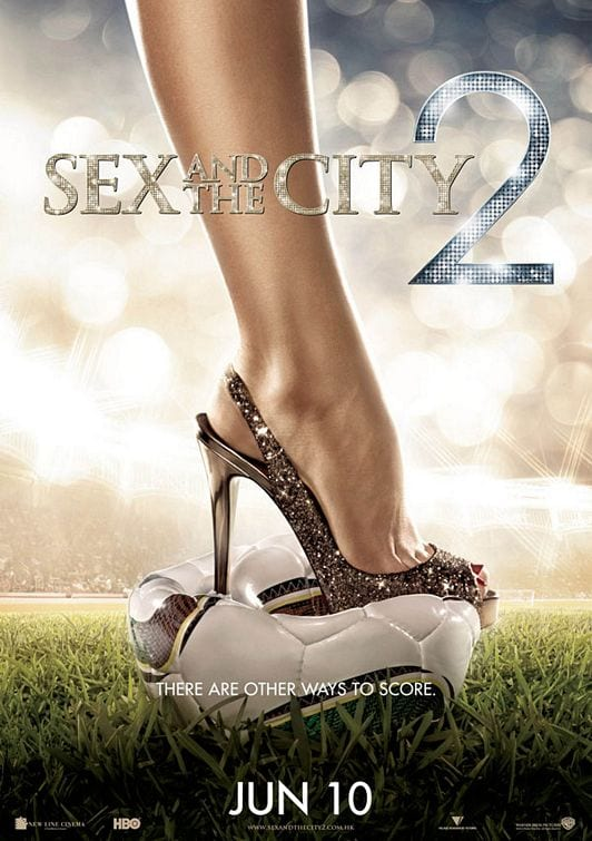 "Locandina di ""Sex and the City 2"""
