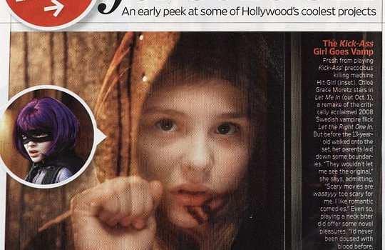 """Chloe Moretz in """"Lasciami Entrare"""""""