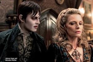 Dark Shadows Depp e Pfeiffer