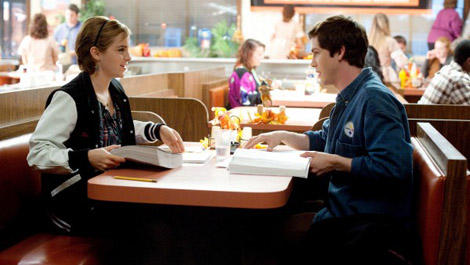 Emma Watson e Logan Lerman