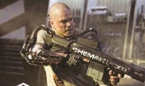 Matt Damon in un'immagine di Elysium