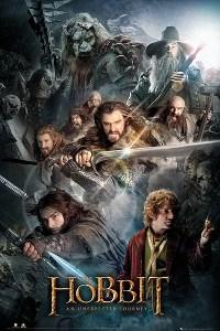 """Il poster di """"Lo Hobbit - Un Viaggio Inaspettato"""""""