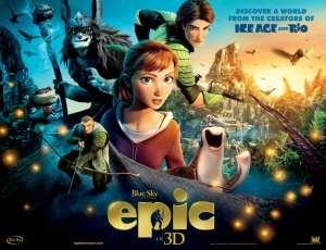 Il poster internazionale di Epic