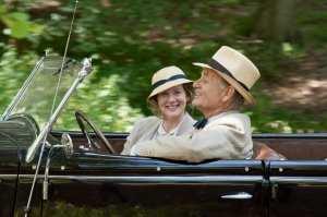 Bill Murray e Laura Linney in A Royal Weekend