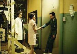 Michel Gondry, Audrey Tautou e Roman Duris durante la lavorazione di Mood Indigo