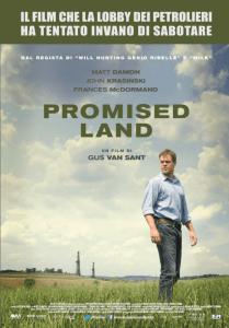 Matt Damon nel poster italiano di Promised Land