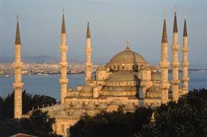 La Basilica di Santa Sofia a Istanbul.