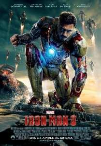 Robert Downey Jr. nei panni di Tony Stark nel payoff poster di Iron Man 3