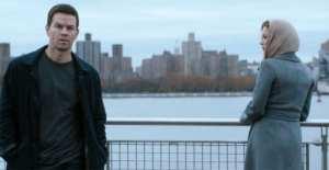 Mark Wahlberg e Catherine Zeta-Jones in una scena di Broken City