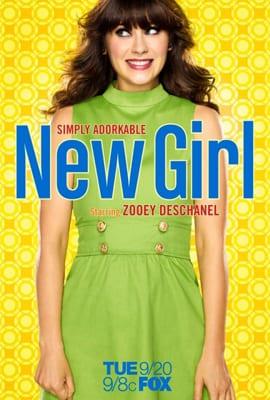 """Il poster promozionale della prima stagione di """"New Girl"""""""