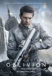 Tom Cruise nel nuovo poster di Oblivion
