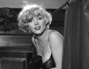 Marilyn Monroe in A qualcuno piace caldo