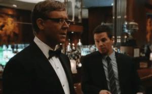 Russell Crowe e Mark Wahlberg in Broken City