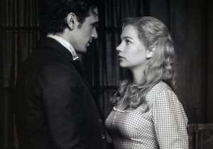 James Franco e Michelle Williams in Il grande e potente Oz