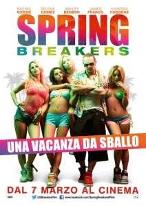 Il poster italiano di Spring Breakers