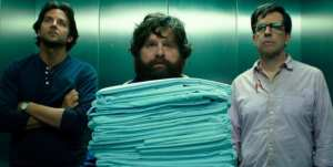 Bradley Cooper, Zach Galifiianakis e Ed Helms nella nuova immagine di Una notte da leoni 3